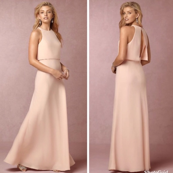 3b20542b1290 Anthropologie Dresses | Sale Bhldn Iva Crepe Maxi Dress | Poshmark